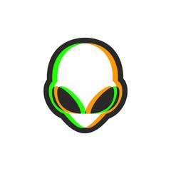 Visual effect alien icon