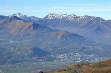 Vallée d'Argelès-Gazost, Pyrénées, France