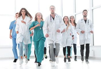 confident new generation doctors stepping to the rescue.