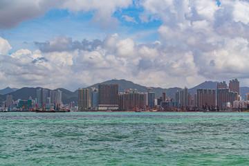 Hong Kong, Kowloon Island Harbour at daytime