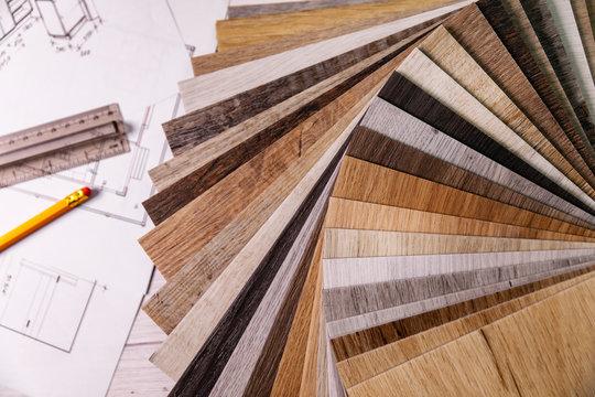 wood texture furniture laminate material samples and interior design plans