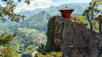 Risshaku-ji temple is a part of the Yama-dera temple, located in the mountains northeast of...
