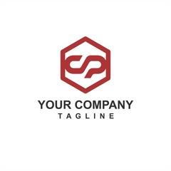 Fototapeta S, SO, OS initial geometric letter company vector logo and icon obraz