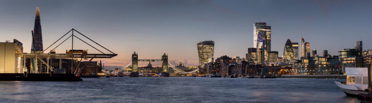 europe, UK, England, London, Thames Tideway Tunnel construction site
