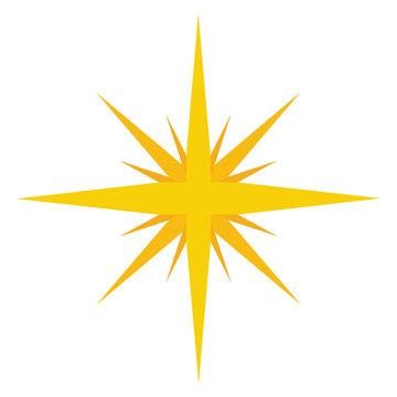 Golden star image