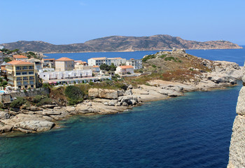 Papiers peints Bleu nuit Paysage de Corse / Calvi