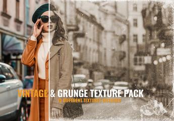Vintage Texture Photo Overlay