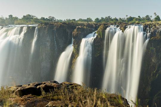 View of Victoria Falls, Zimbabwe