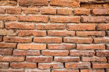 Old Brick wall Vintage brick texture.