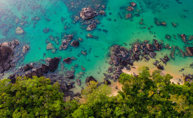Where Rainforest meets Coral Reef at remote Masoala National Park in Madagascar