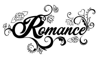 Romance Word Art