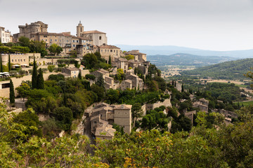 View of Gordes, Provence,France