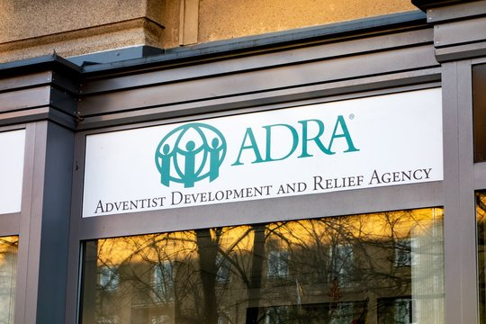 The Adra (Adventist Development and Relief Agency) charity shop which sells product to support poor people in need