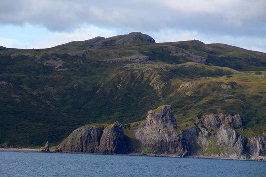 Küste von Unga Island-Aleuten