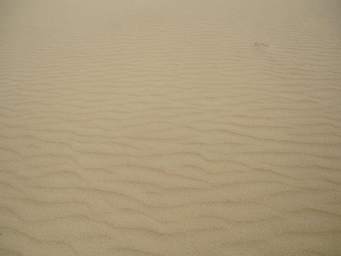 Sand dunes near the village of Seneca in Kazakhstan.