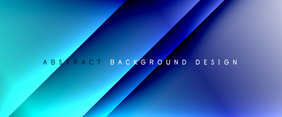 Türaufkleber Dunkelblau Trendy simple fluid color gradient abstract background with dynamic straight shadow line effect. Vector Illustration For Wallpaper, Banner, Background, Card, Book Illustration, landing page
