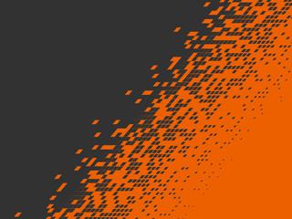 Pixel background. Pixelate Effect. Geometric background. Vector illustration.