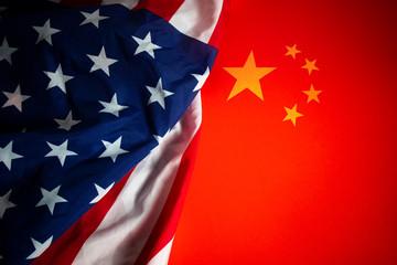 global financial trade war of america vs china battle, market economy of demand money challenge,...