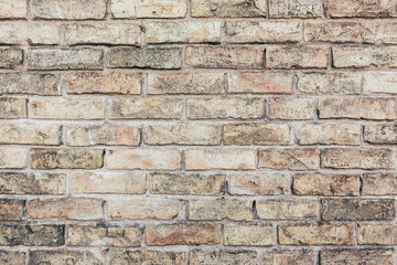 Old brick wall. Perfect grunge background. Copy space for text