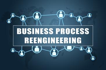 Obraz Business Process Reengineering - fototapety do salonu