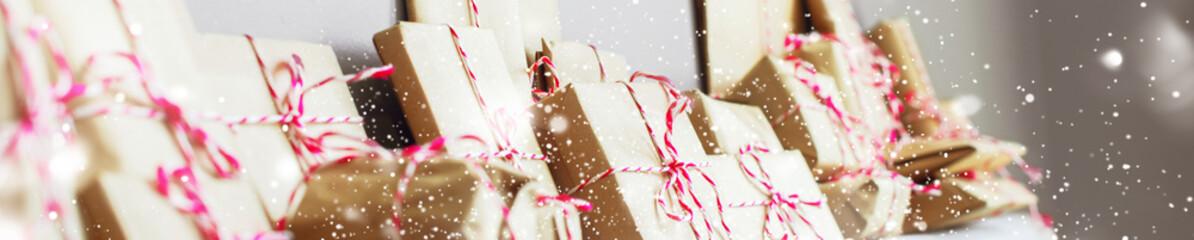 Christmas advent eve calendar Home made card