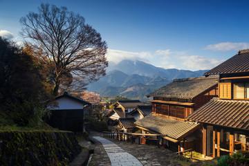 Magome juku old town, Kiso valley