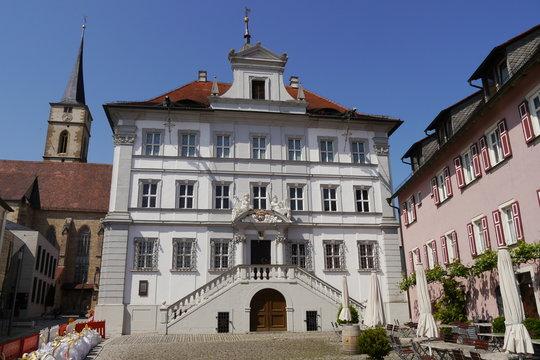 Barockes Rathaus in Iphofen