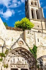 Fotomurales - Saint-Emilion in east Bordeaux, Francie