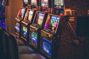 Row of Slot Machines
