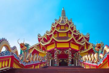 Foto auf Leinwand Kultstatte China buddhist temple in thailand