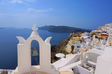 Photo sur Aluminium Santorini santorini island in greece