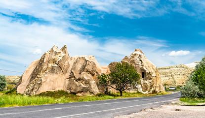 Rock formations in Goreme - Cappadocia, Turkey