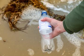 Plastikflasche Umweltschutz PVC Weltmeere