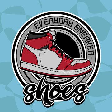 vector shoes logo