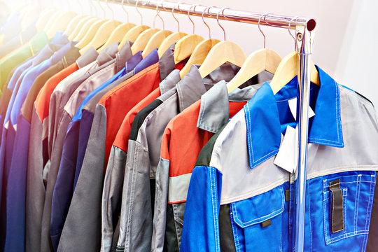Jackets workwear in store