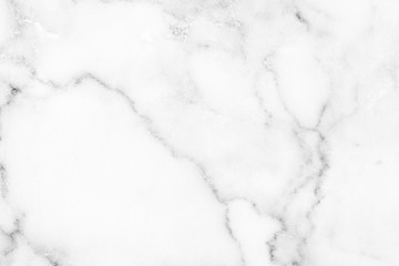 Photo sur Aluminium Cailloux Marble granite white background wall surface black pattern graphic abstract light elegant black for do floor ceramic counter texture stone slab smooth tile gray silver natural for interior decoration.