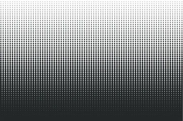 Dots halftone background. Overlay texture. Point pattern wallpaper. Abstract dot geometric circle shape backdrop. Vector illustration image. Isolated on white Background.