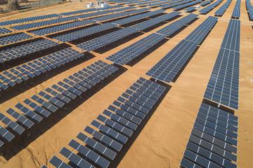 Field of Solar Panel