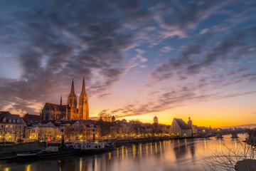 Regensburg Dom | Kirche | Cathedral | Oberpfalz | Bayern | Germany Fototapete