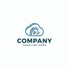 Combine data and cloud. Logos can be used for technology companies that are developing data storage. Images can be used to design business cards, envelopes, letterhead, Facebook, Yotube, etc.