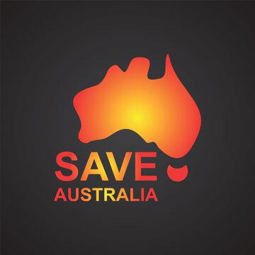 Pray For Australia Design Banner