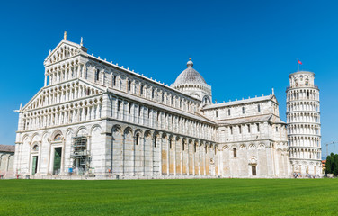 The Leaning Tower of Pisa and Pisa Cathedral complex, Italy Fotomurales