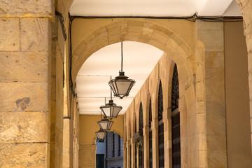 City Hall Lamps in Oviedo; Asturias