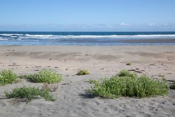 Empty Barayo Beach in Asturias