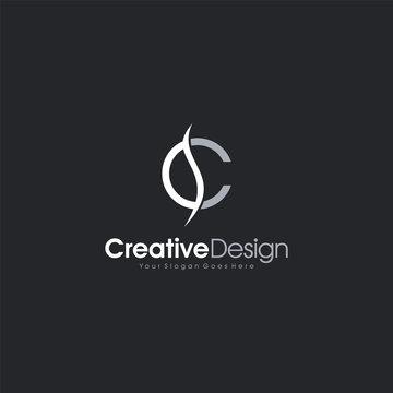 Logo Design Letter SC or CS abstract Logo Template Design Vector, Emblem, Design Concept, Creative Symbol design vector element for identity, logotype or icon