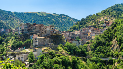 Longobucco, village in the Sila natural park, Calabria