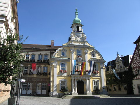 Rathaus in Kulmbach