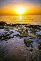 sunrise in panglao, bohol, philippines