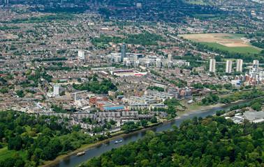 Brentford, Hounslow Aerial View