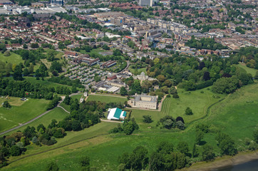 Syon House, West London Aerial View